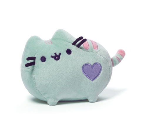 Mini Pusheen Pastel Green Plush - 6 Inches