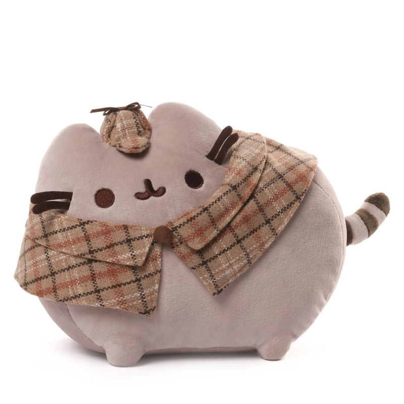 Detective Pusheen Plush - 12 Inches