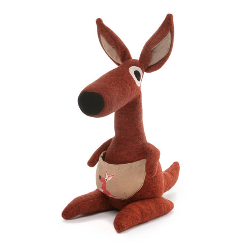 "Kichi Kangaroo  - 10"" Kawaii Plush Collection"