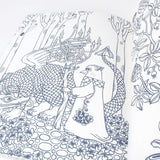 Animal Sleep Stories Coloring Book