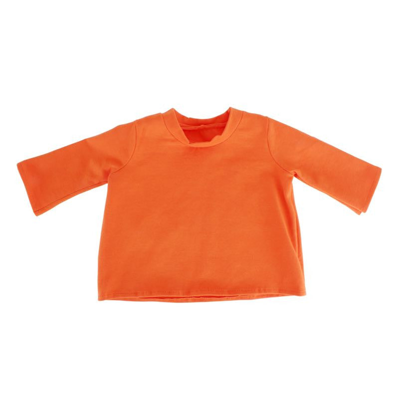 Orange Long Sleeve Tee for 20