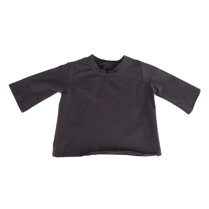 Dark Grey Long Sleeve Tee for 20