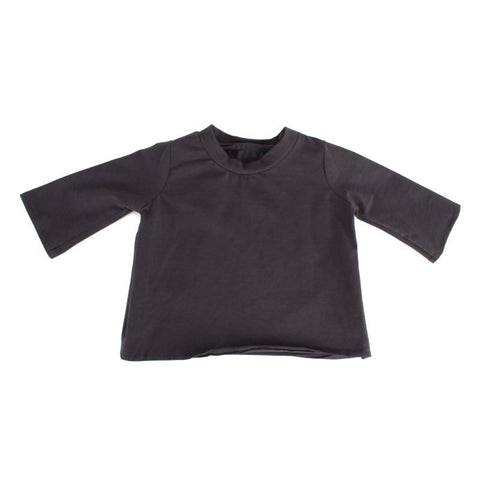 "Dark Grey Long Sleeve Tee for 20"" Squadt"