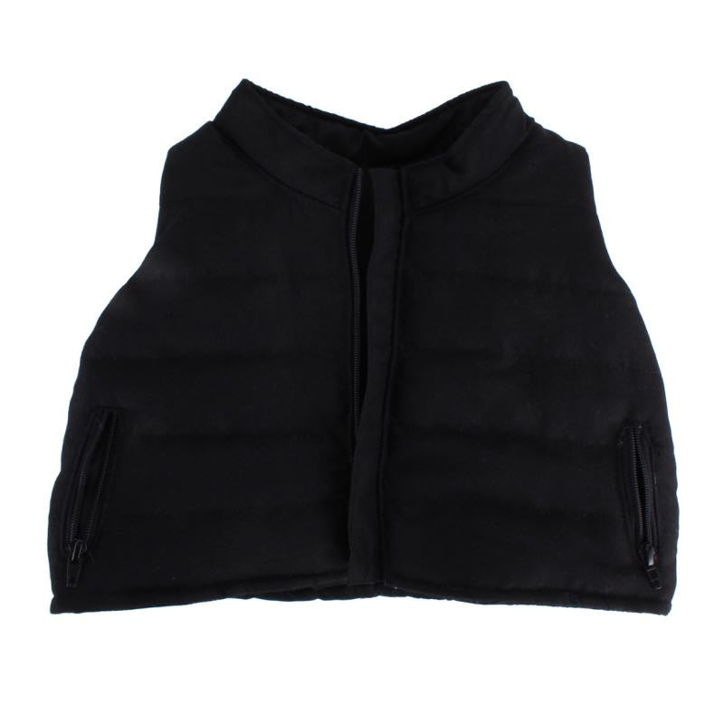 Black Puffy Vest for 20