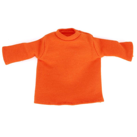 "Orange Long Sleeve Tee for 6"" Squadt"