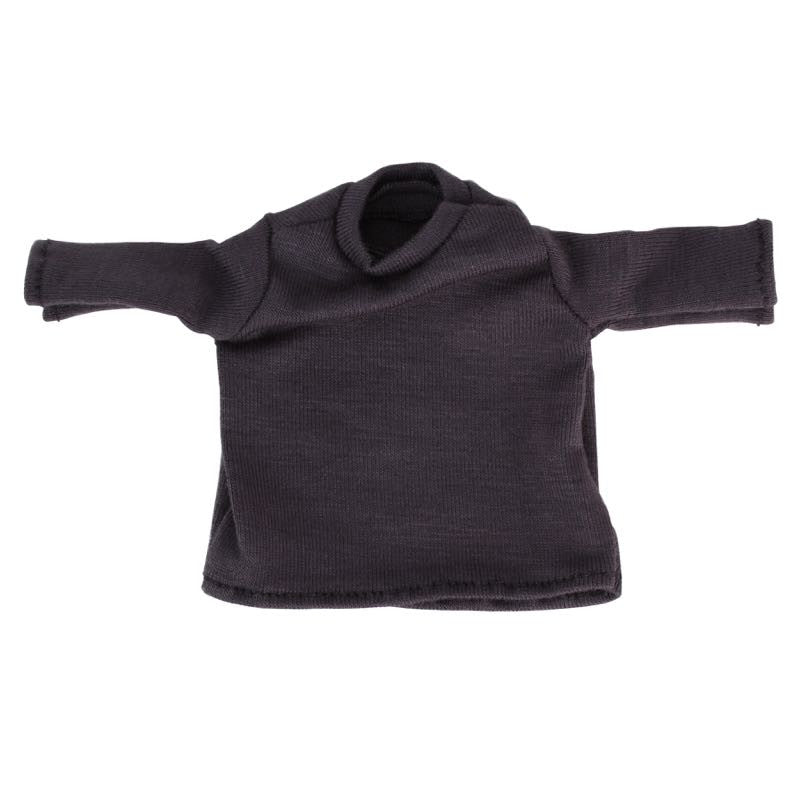 Dark Grey Long Sleeve Tee for 6