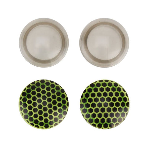 "Light Grey / Green RVS Bug Lenses for 6"" Squadt"