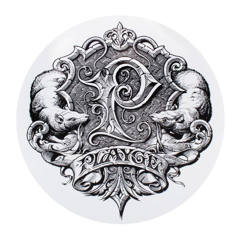 Horkey Playge Logo Big Ass Sticker on Clear