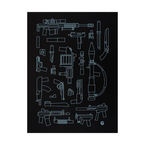 Squadt Weapons Print