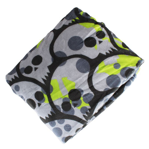 Pandemic Camo Soft Fleece Throw Blanket