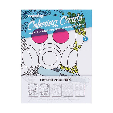 Rotofugi Coloring Cards Set 2 - Ferg