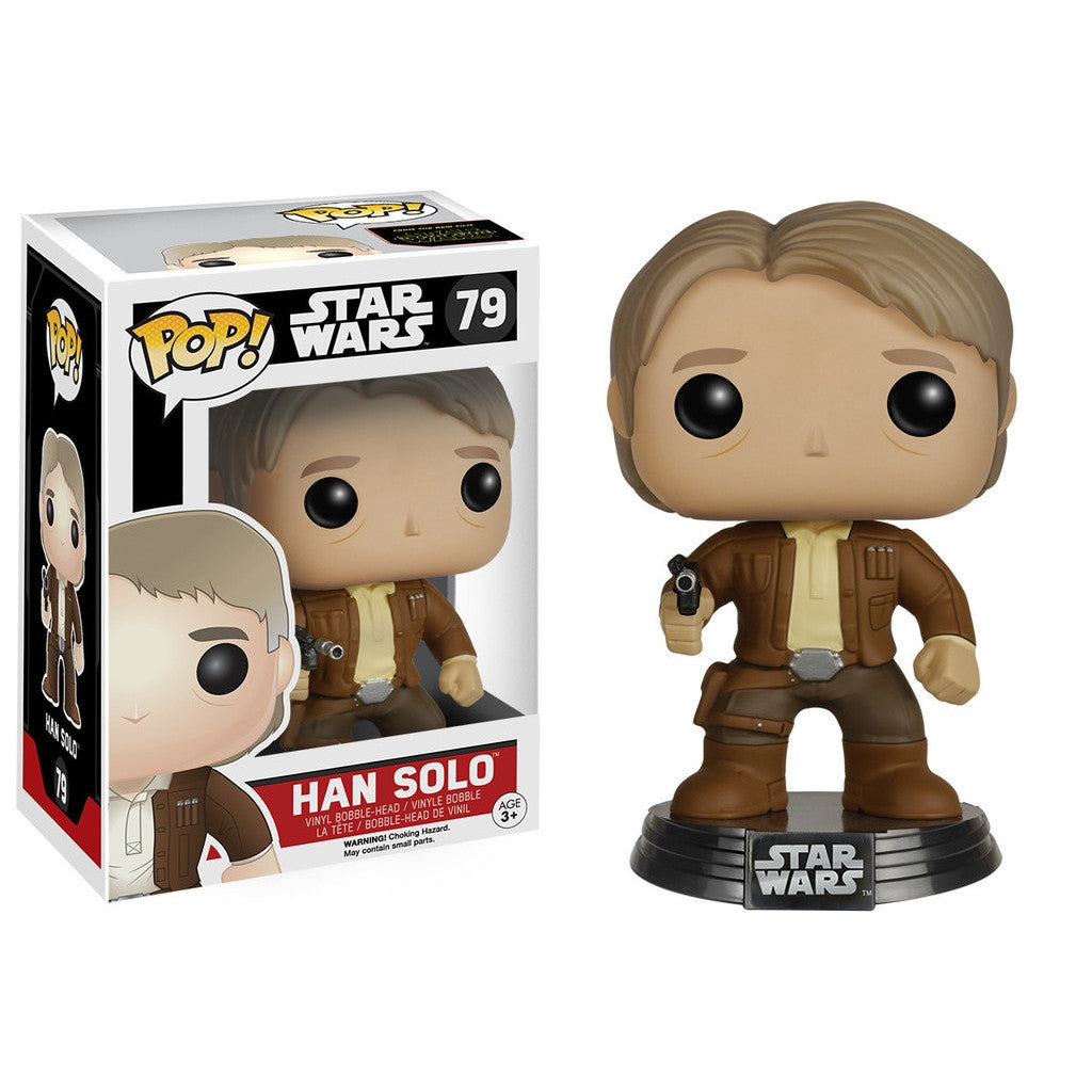 Hans Solo - POP! Star Wars Episode 7 - Bobble