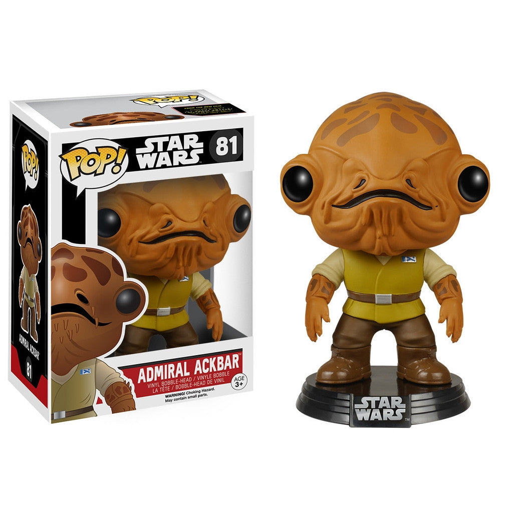 Admiral Ackbar - POP! Star Wars Episode 7 - Bobble