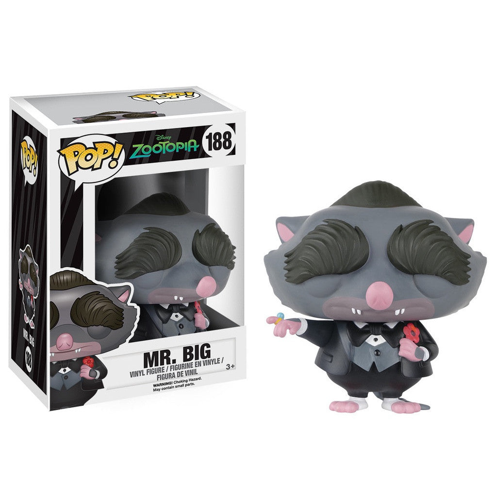 Mr. Big - Zootopia - POP! Disney