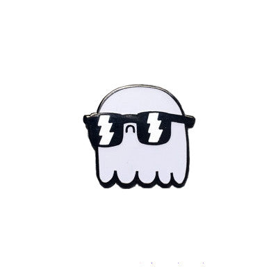 GID Ghost Enamel Pin