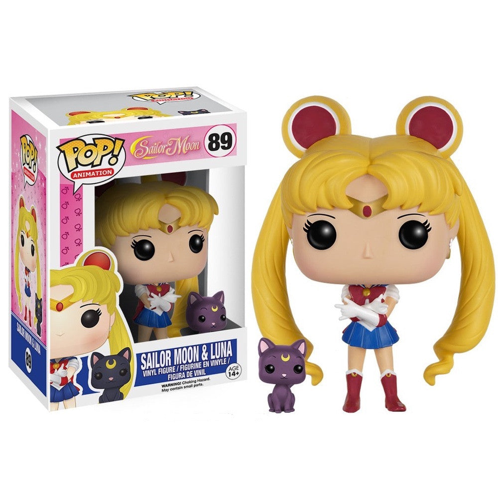 Sailor Moon & Luna - Sailor Moon - POP! Animation