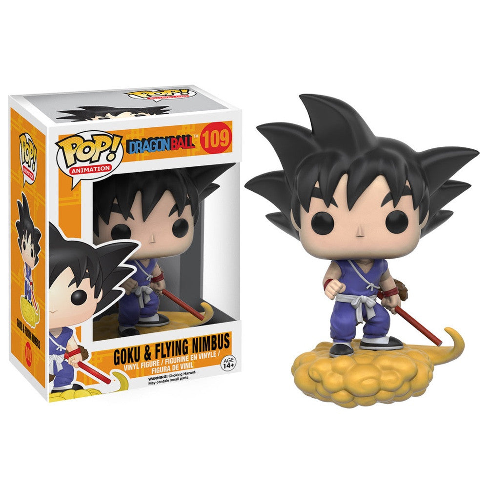 Goku and Nimbus - Dragonball Z - POP! Animation
