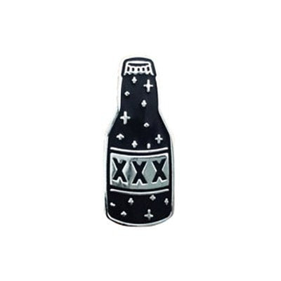 XXX Bottle Enamel Pin