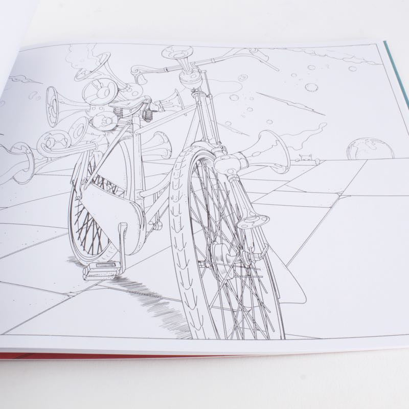 The Bicycle Coloring Book
