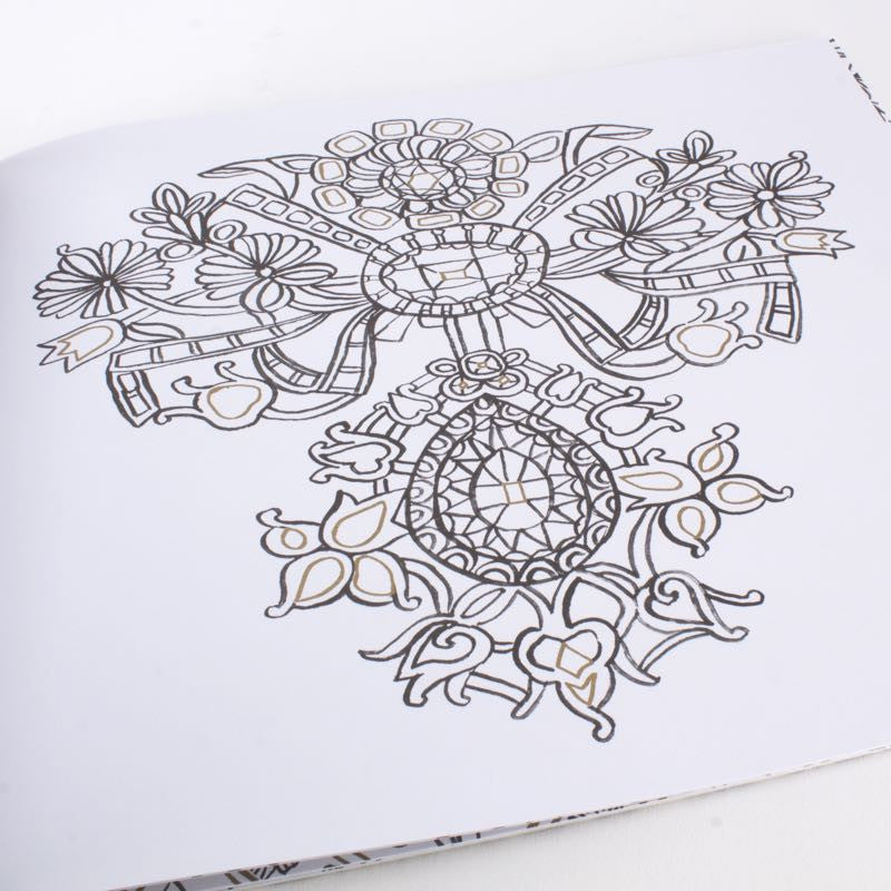 French Baroque - Coloring Book