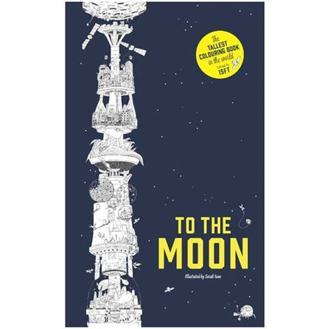 To The Moon - Coloring Book