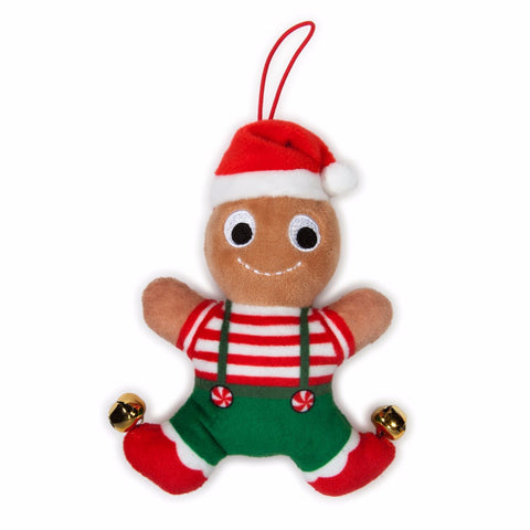 Small Gingerbread Jimmy Yummy World Plush Ornament - 4 inch