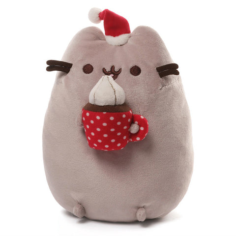 Christmas Snackable Pusheen Plush  - 10 Inch Plush