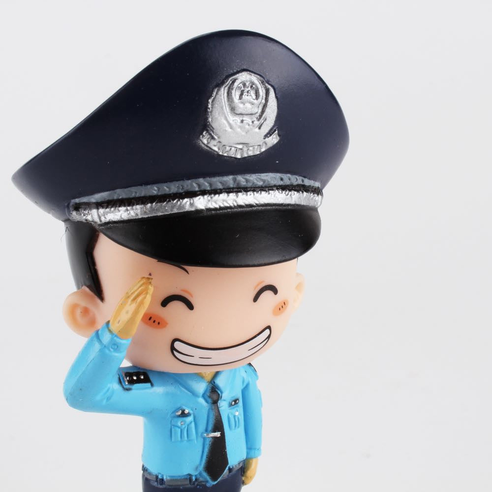 Best Happy Police Friends - Patrol Officer Wang