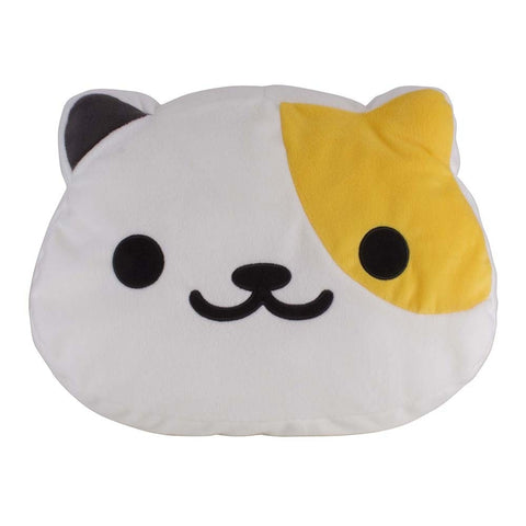 Neko Atsume Large Kororin Face Cushion - Sunny
