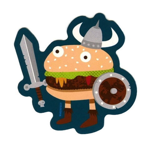 Fantasy Warburger - Nerfect Sticker