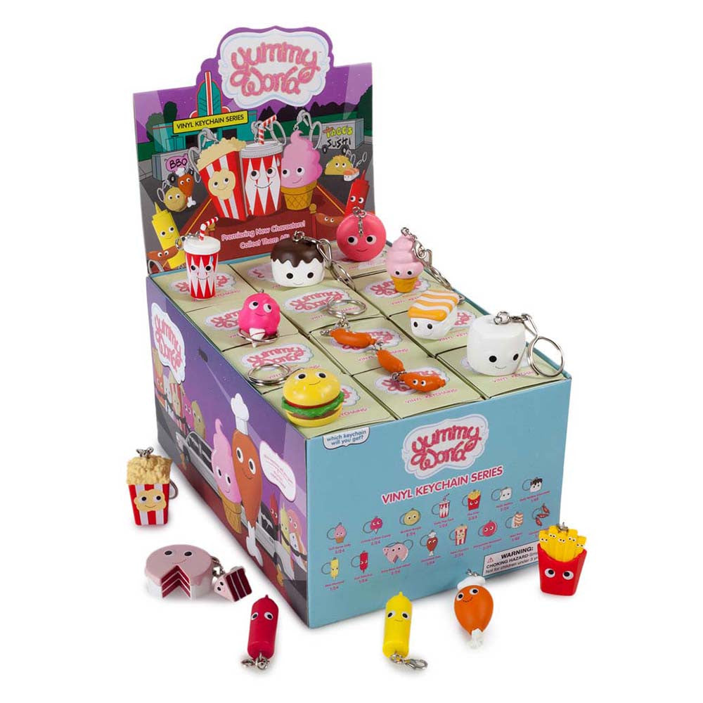 Red Carpet Yummy World Keychains - Single Blind Box