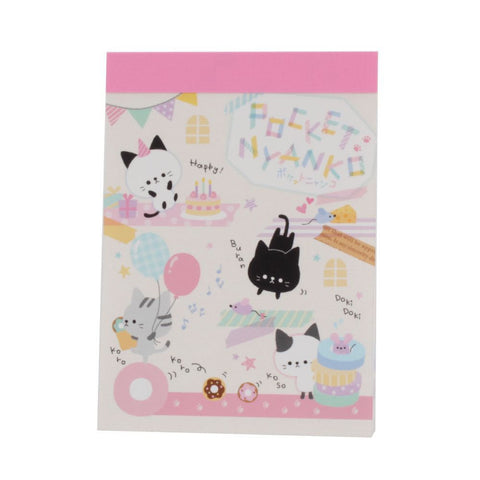 Crux Pocket Nyanko Mini Notepad