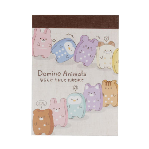 Crux Domino Animal Mini Notepad