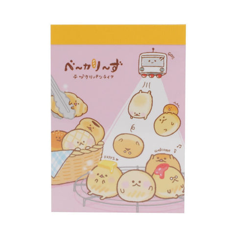 Crux Bread Bun Mini Notepad