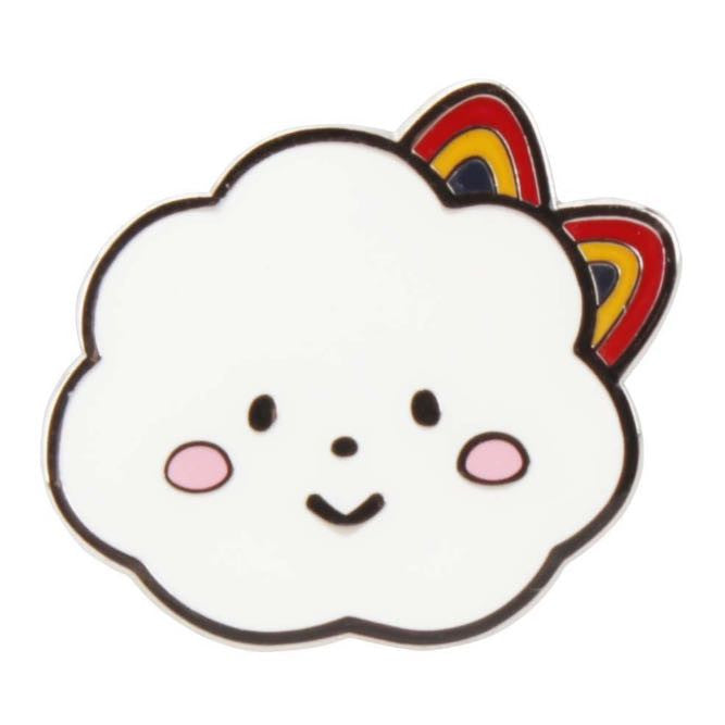 Miss Rainbow by Fluffy House Enamel Pin