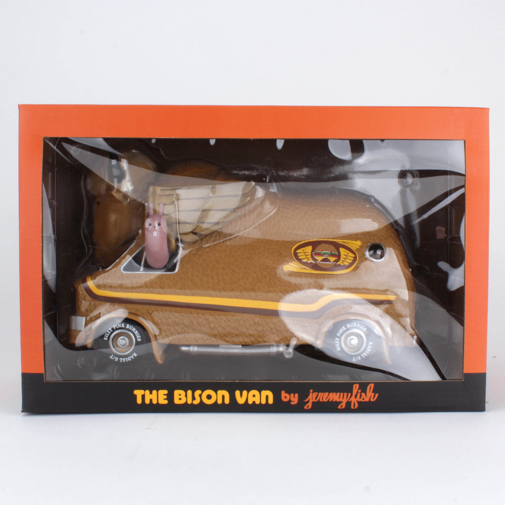 The Bison Van - Burger Edition by Jeremy Fish