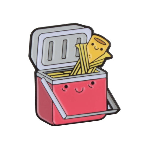 Red Tamale Cooler Enamel Pin