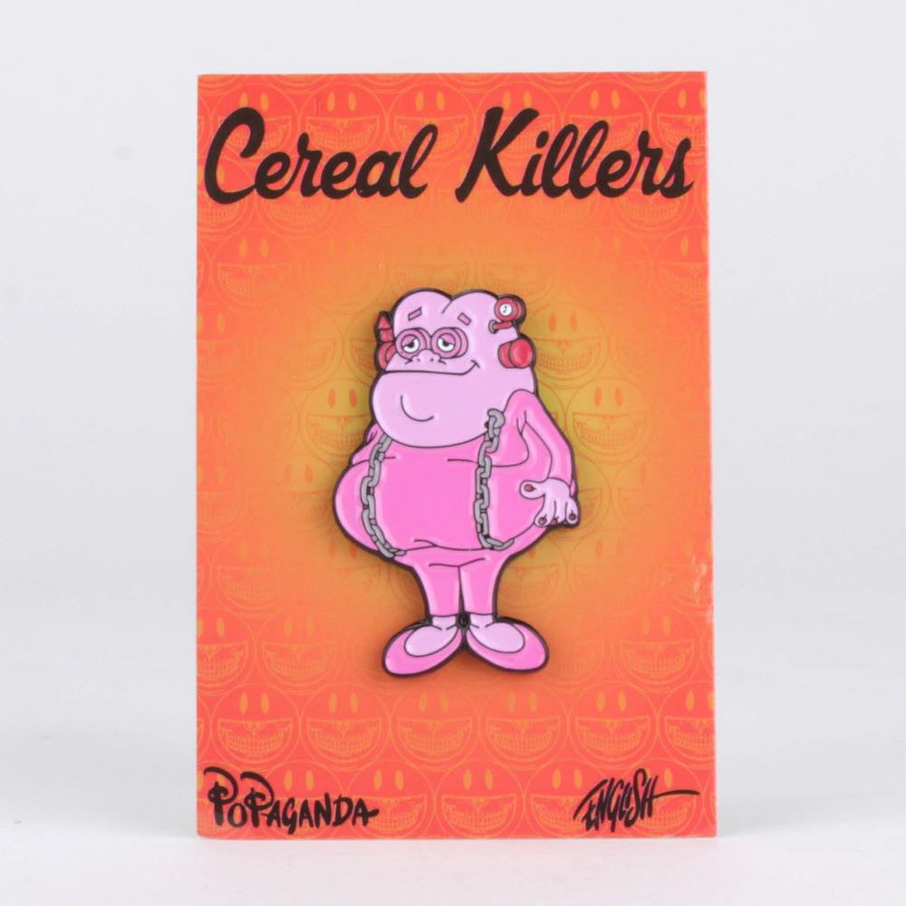 Franken Fat Enamel Pin - Cereal Killers