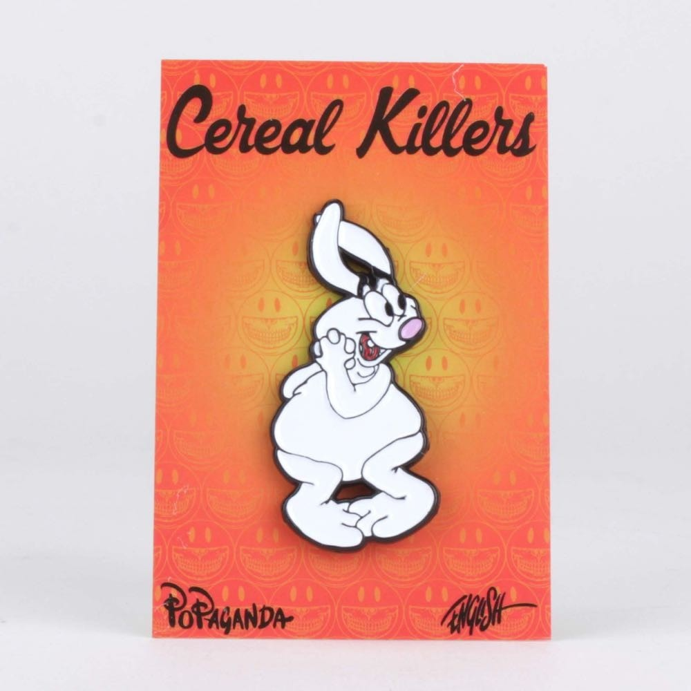 Tricky the Rabbit Enamel Pin - Cereal Killers