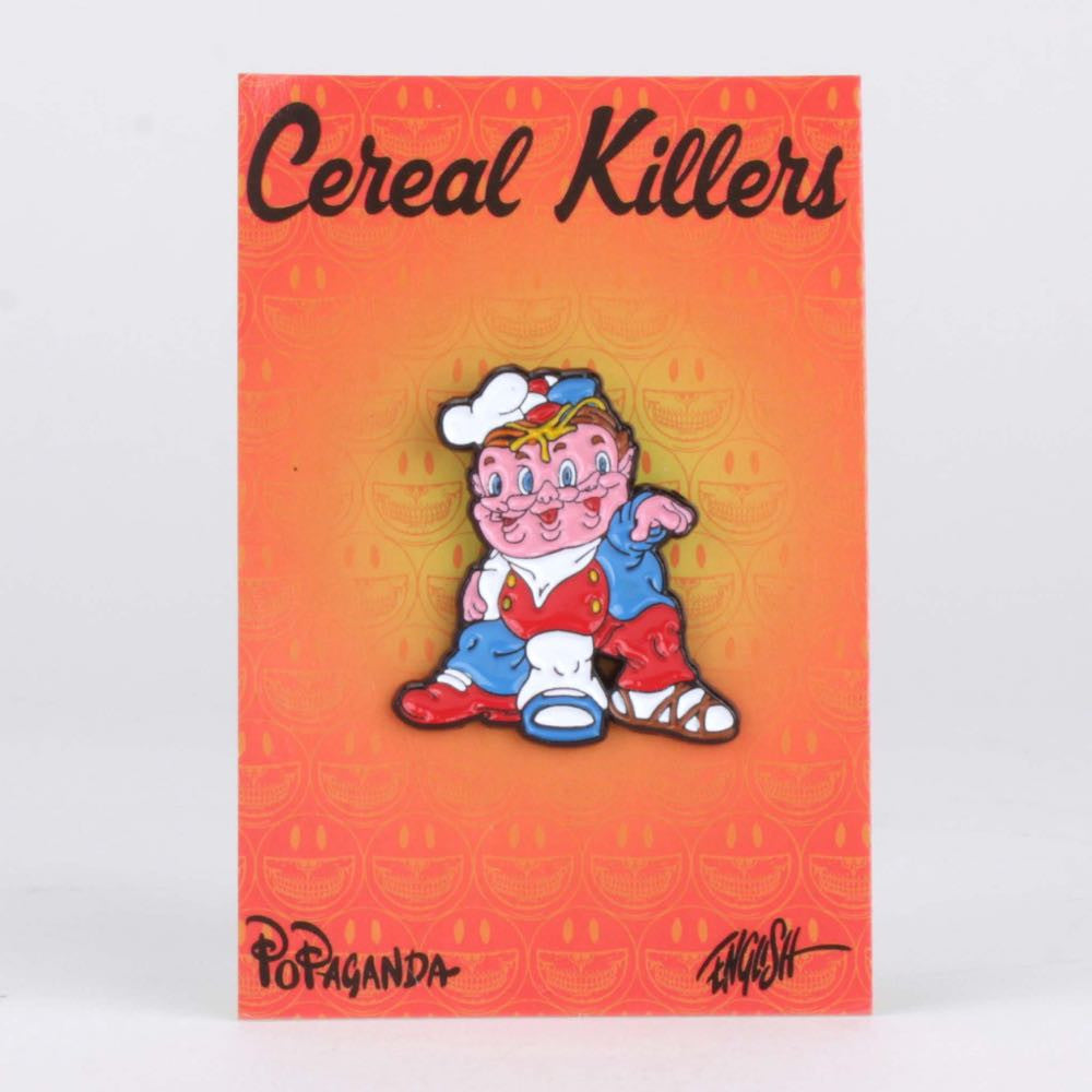 Smack Crack & Pot Enamel Pin - Cereal Killers
