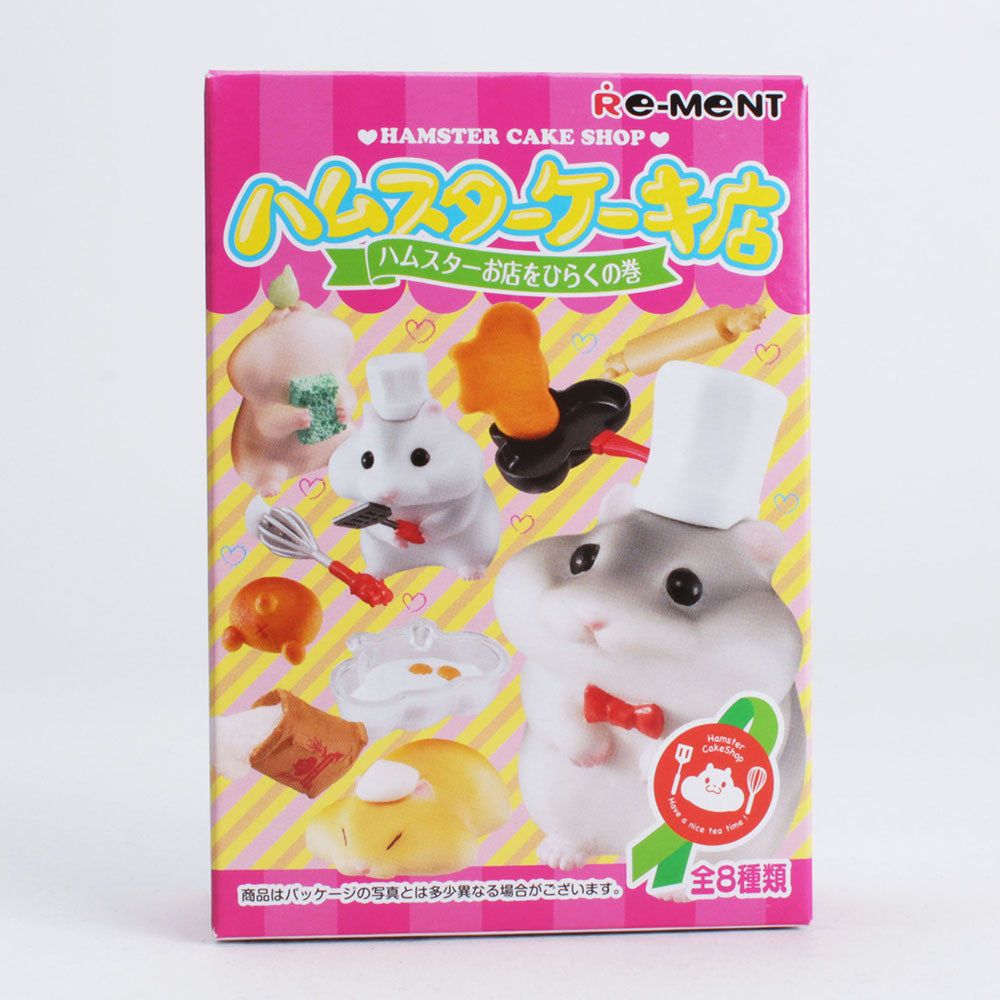 Hamster Cake Shop Re-Ment - Single Blind Box