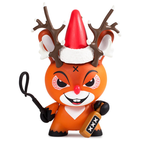 "Kozik 3"" Rise of Rudolph Holiday Dunny"