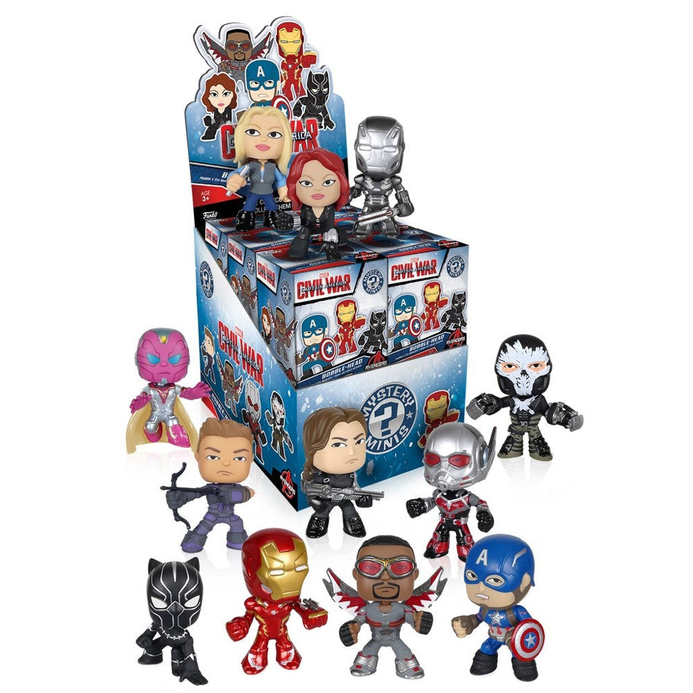 Captain America Civil War Mystery Minis - Single Blind Box