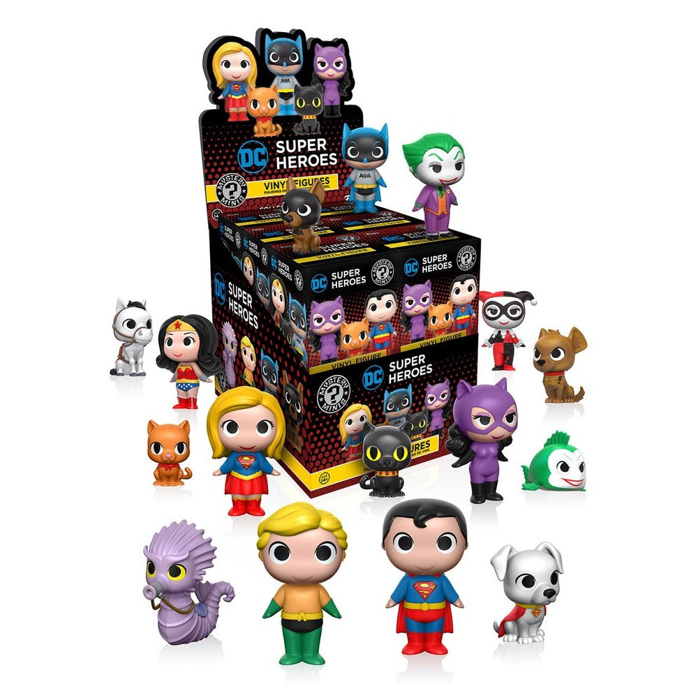 DC Heroes and Pets Mystery Minis - Single Blind Box
