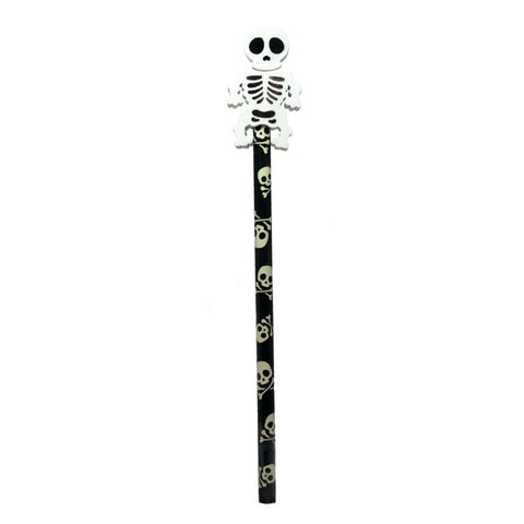Skeleton Eraser & Pencil