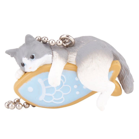 Cats with Cookies Gachapon with Ballchain - Random Assortment