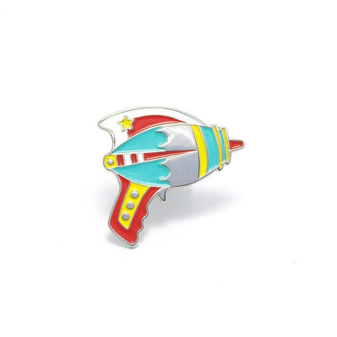 Bright Ray Gun Enamel Pin