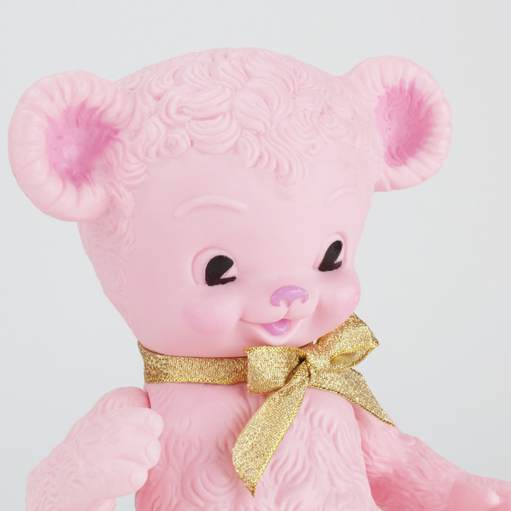 Bitter Squeaks Edward Mobley Bear - Cotton Candy Pink