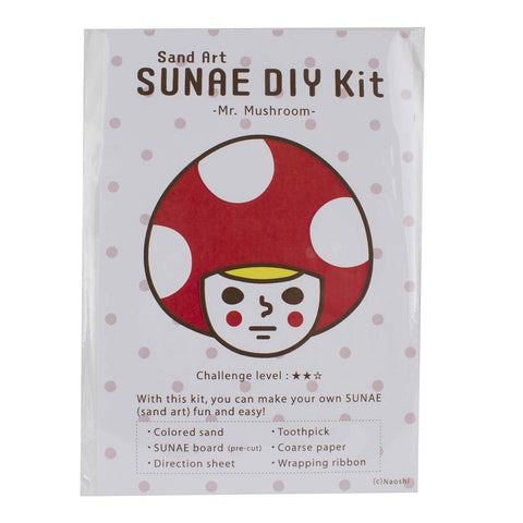 Mr. Mushroom - DIY SUNAE (Sand Art) Kit