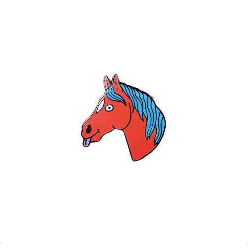 Lisa Horse Enamel Pin